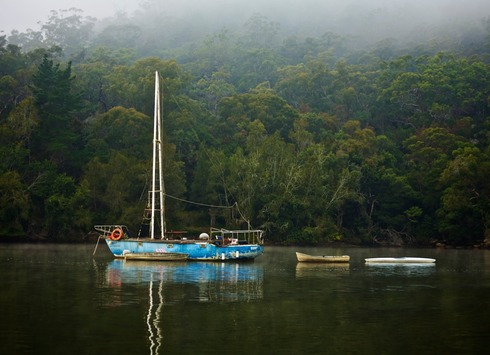 Yacht, Mullet Creek